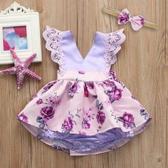 Do It Well MUQGEW Toddler Baby Gilrs Sleeveless Lace Ruched Romper Jumpsuit Headband Floral Ouifit Tassel baby overalls for kids Special Rates This Hour. *** If you want to check the quality of MUQGEW Toddler Baby Gilrs Sleeveless Lace Baby Outfits, Girls Summer Outfits, Baby Girl Dresses, Toddler Outfits, Baby Dress, Kids Outfits, Summer Clothes, Summer Girls, Little Girl Fashion