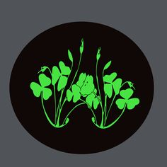 St Patricks Day by @yamachem, The image of the plant for St. Patrick's Day., on @openclipart