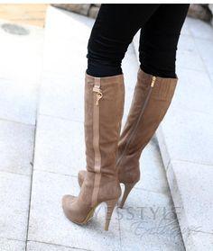 High Heel Boots @Gaby Rojano se parecen a las tuyas���� http://fave.co/2dj8lKP