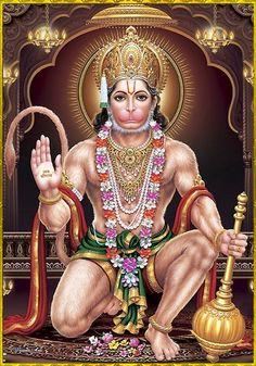 "☀ HANUMAN ॐ ☀ ""Those persons who always chant ""Shri Ram"", ""Shri Ram"", without any doubt would get victory as well as salvation and happiness. Shiva Tandav, Shiva Art, Shri Hanuman, Durga, Krishna, Hanuman Ji Wallpapers, Aghori Shiva, Hanuman Photos, Lord Balaji"