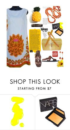 """""""Sun Worshipper"""" by bamaannie ❤ liked on Polyvore featuring Models Own, NARS Cosmetics and vintage"""
