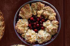 Cranberry-Cherry Cobbler Piecountryliving