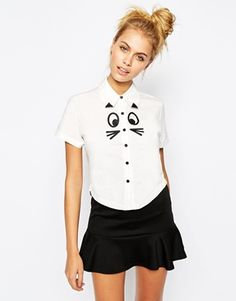 The cutest blouse ever! Can you make a dog version please Lazy Oaf?