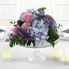 Glass Bowl Centerpiece Ideas | ... Wedding Flowers - Wedding Reception Centerpieces - Floral Centerpiece