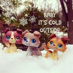 Littlest Pet Shop Love: Baby it's cold outside.