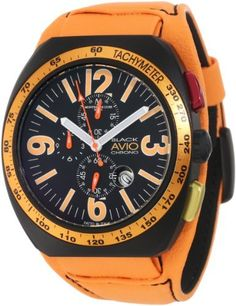 Montres De Luxe Men's BK4805 Avio Aluminum Black PVD Chrono Cuff Watch Montres De Luxe. $460.94. Aluminium anodized case. Chronograph function; Sub-second. Water-resistant to 99 feet (30 M). Luminious hands and numbers; Tachymeter. Convex mineral with magnifying lens. Save 69% Off!