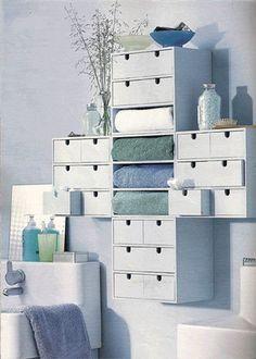 Arredare il bagno con le minicassettiere MOPPE