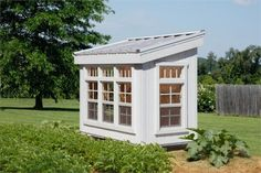 Petite Greenhouse Panel-Built Kit (5x3)  #storageshedsoutlet