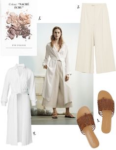 All white. Summer style inspiration.