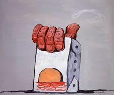 Philip Guston (1913-1980) La mano del pintor, (1975)