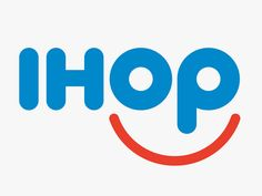 Caption: IHOP's newly revealed logo is meant to look like a cheerful…