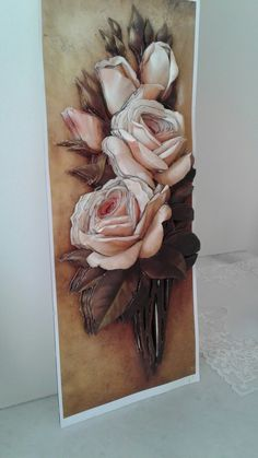 Clay Wall Art, 3d Paper Art, Mini Chandelier, Snail, Decoupage, Mixed Media, Projects To Try, Sculpture, Drawings