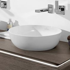 Villeroy & Boch Artis Aufsatzwaschtisch weiß mit CeramicPlus ohne Überlauf