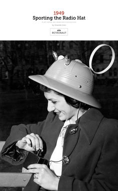 Before there were iPods there were Radio Hats.