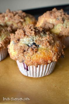 blueberry muffins, just used this recipe for my first time making homemade muffins...they are amazing and super simple! Maybe cut the topping recipe in half though. It makes a lot when the batter only makes 12 muffins