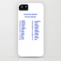 International Alphabet iPhone Case by David French - $35.00