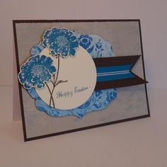 FM98: Happy Easter with Field Flowers by wiebergs - Cards and Paper Crafts at Splitcoaststampers
