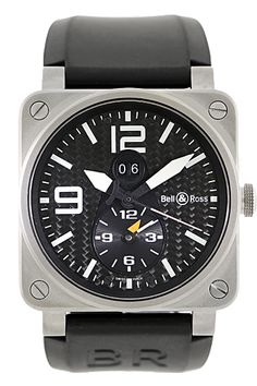 CPO Bell & Ross Titanium #Aviation GMT Automatic