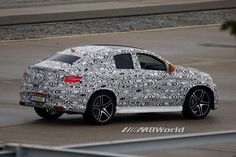 A Better (Sneaky) Look at the Mercedes-Benz #MLC63 #AMG - MBWorld.org | #Mercedes #spyshots #M157 #M133 #M177 #M178