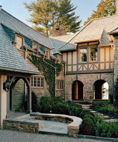Normandy style by Hilton Vanderhorn Architects
