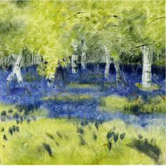 janet dickson printmaker   monotypes  gallery / I need this print somewhere in my home, not sure where yet. It's beautiful.