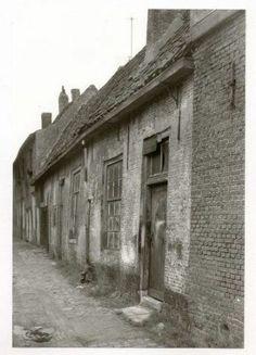18de eeuwse kamerwoningen. Haagdijk 1962.