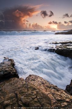 Flowing streams in Davenport, USA