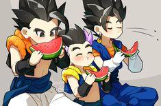 Fan Art Anime, Anime Love, Anime Manga, Gogeta And Vegito, Dbz, Artist At Work, Dragon Ball Z, Chibi, Fangirl