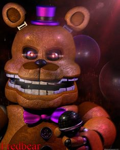 The Fredbear - Poster by GamesProduction on DeviantArt Fnaf Freddy, Scott Cawthon, Dont Hurt Me, Fnaf Characters, Team Fortress 2, Arte Horror, Indie Games, Do You Remember, Five Nights At Freddy's