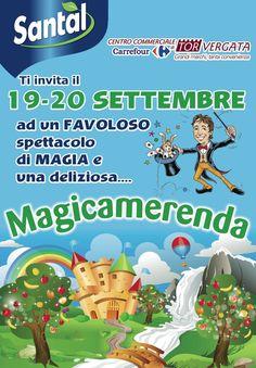 19 e 20 settembre Magicamerenda con #santal
