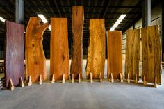 Our reclaimed live edge slabs and species pictures. Woodworking Furniture, Diy Woodworking, Wood Slab Table, Live Edge Wood, Rough Wood, Woodworking Inspiration, Wood Source, Solid Wood Furniture, Custom Furniture