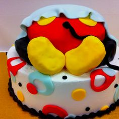 Mickey Mouse Baby Butt For Jess · Cakes For Baby ShowersIdeas ...