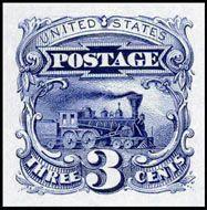 1869 - Locomotive - 3 c.