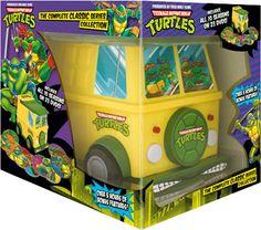 Teenage Mutant Ninja Turtles - The 23-DVD 'Complete Classic Series Collection' Party Van Gift Set!