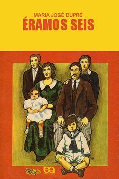 "The book of my life! ""We were six"" Maria José Dupré, ou Sra. Old Children's Books, Vintage Books, My Books, I Love Books, Good Books, Books To Read, Maria Jose, Romance, Folklore"