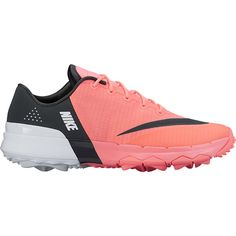 Lava Glow/Anthracite/White Nike Ladies Flex Golf Shoes! Awesome shoes that match your outfits at #lorisgolfshoppe