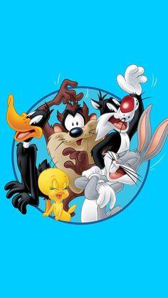 Hd wallpapers bugs bunny, twice, daffy duck, the tasmanian devil, looney tu Looney Tunes Party, Baby Looney Tunes, Looney Tunes Cartoons, Old Cartoons, Classic Cartoons, Disney Cartoons, Looney Tunes Wallpaper, Cartoon Wallpaper, Disney Wallpaper