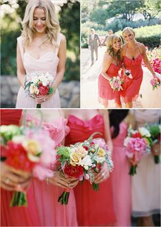 bridesmaid color pallet photo by http://www.patmoyerweddings.com/