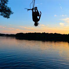 sunset rope swing flip - Bing Images