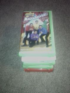 Wiggles Lot Of 5 VHS Movies.