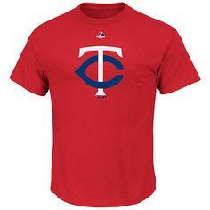 Minnesota Twins Youth Mesh Logo T-Shirt