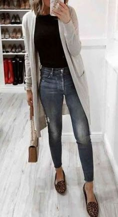 Cute casual long cardigan fall outfits for women Ll fashion trends Winter Outfits Women, Fall Outfits, Summer Outfits, Women Casual Outfits, Sexy Outfits, Mode Outfits, Fashion Outfits, Fashion Trends, Fashion Fashion