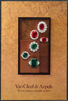 Van Cleef & Arpels (Jewels) 1978 Catalogue Jewels & Watches Archive documents French Clippings | Hprints.com
