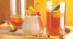 Charred Orange Colada: This frozen cocktail provides a welcome escape to the tropics. Savor smoky charred oranges, rich black rum and warm allspice in every sip.