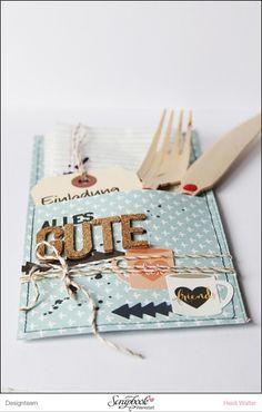 DIY Einladungen zum Abendessen Geschenke Pinterest