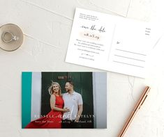 Simply Modern Save the Date photo postcards front & back Modern Save The Dates, Save The Date Photos, Save The Date Postcards, Photo Postcards, Save The Date Cards, 4x6 Postcard, Wedding Website, Wedding Locations, Engagement Photos