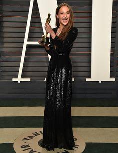 Alicia+Vikander - Oscar's After Party