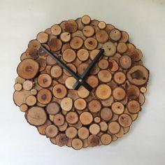 Rustic wall clock.