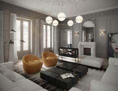 London-Based ART BURO Designs a Sophisticated Apartment in Paris