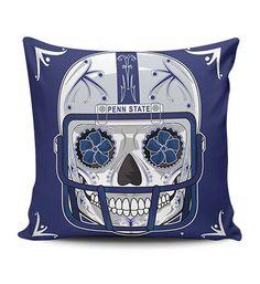 Penn State Sugar Skull Pillow Covers